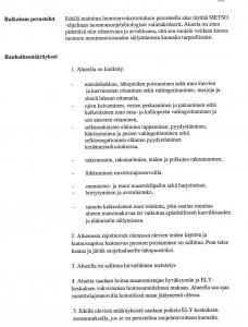 Puikkarinlammin rauhoitusmääräykset 2014